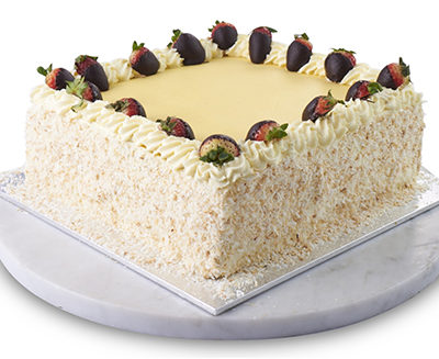 Vanilla Decorated Sponge Cake Sydney