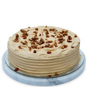 Gooey Caramel Mud Cake