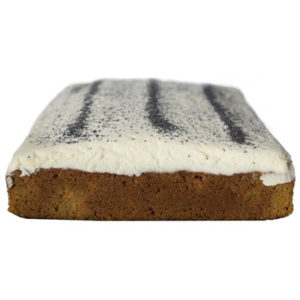 Traditional Sponge Slab Orange Poppy Seed Cake Sydney